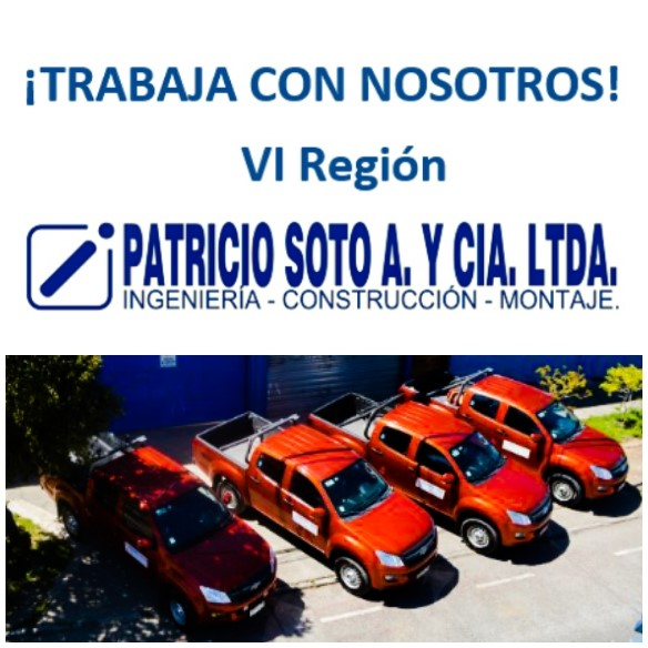 Patricio Soto A. y Cía. Ltda. Requiere contratar