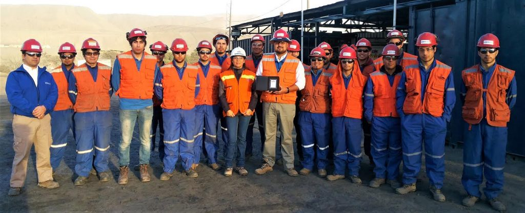 Empresa Patricio Soto A. y Cia. Ltda. en Mina Los Colorados